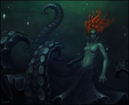 Sea Witch by Sephiroth-Art