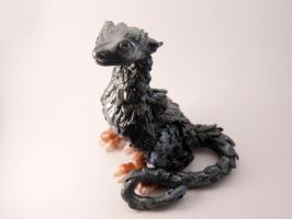 Figurine inspired by Trico from The last Guardian by Akalewia