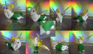 My little Pony Pony Custom Tinkerbell by BerryMouse
