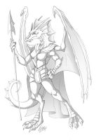 Thalathis - Sketch Commission by Lizkay