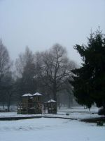 Snowy Playground Stock by prudentia