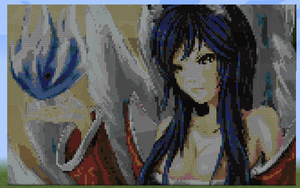 Minecraft - League of Legends - Ahri [completed] by Kuuonn