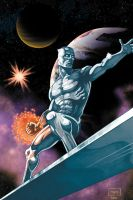 Silver Surfer Commission by RossHughes