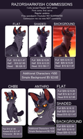 Commission Info [READ DESCRIPTION] by RazorSharkFish