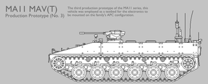 MAV11 MAV(T) APC Production Prototype [Uncoloured] by SixthCircle