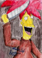 Sideshow Bob by hewhowalksdeath