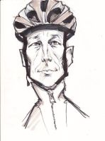 lance armstrong sketch by j0epep