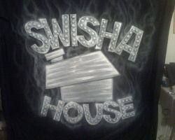 Swisha House backdrop by KidStyles