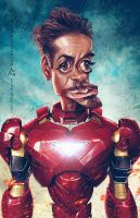 Iron Man by AnthonyGeoffroy