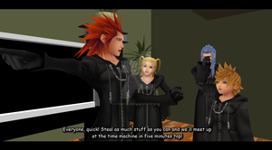 KH MMD - Let's Steal by JustTJ
