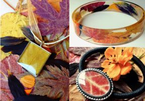 Autumn Botanical Jewelry by OcularFracture