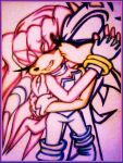 Sonic X Sky- Love's Embrace by Sky-The-Echidna