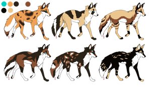 ADOPTABLES .:OPEN:. Batch 9 by Mireille-Adopts
