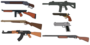 Vector Art Weapons by Batandy