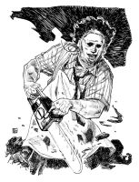 Leatherface from Texas Chainsaw Massacre by deankotz