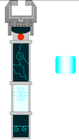 Midna Lightsaber by TheSciFiArtisan
