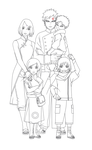 Family Haruno Next Gen Outlines by SunakiSabakuno