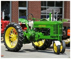 A John Deere Tractor by TheMan268