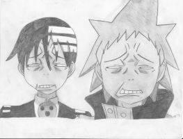 Black Star and Death the Kid- Excalibur Face by 88Death-The-Kid88