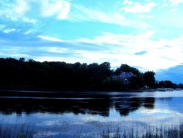House on the Lake by highlyimprobable
