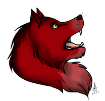 wolf practise by DSerpente