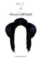 Hair png stock by StarsColdNight