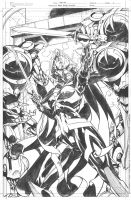 Masters of the Universe 8 She Ra pg 1 pencils by DrewEdwardJohnson