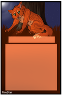 FREE Firestar Animated Journal Skin by Wolfvids