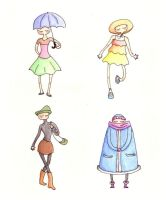 Four Hats by scaragh