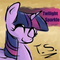 Twilight Sparkle - Autograph Series by whatchyagonnado