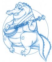Bluegrass Gator by KingOlie