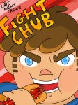 Fight chub fan-cover  by happymia13