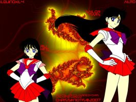 Rei Hino - Sailor Mars by Droid24747
