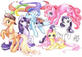 Finally some REAL My Little Ponies! by SoraNoRyu
