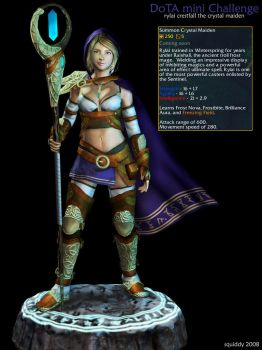 DoTA : The Crystal Maiden by 3dsquid