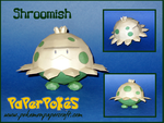 Shroomish Papercraft by Skeleman