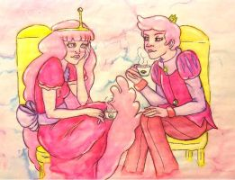 Tea Partying by FoulOwl