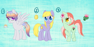 Pony Adoptables 1 -SOLD- by candy-behemoth