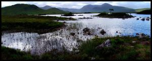 Scotland VIII - Lake Pano... by MichiLauke