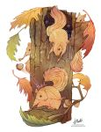 The Nuts of Fall by SaraPlante