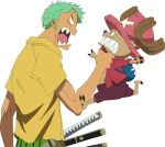 Zoro Vs Chopper by AsilaydyingJohnyyy