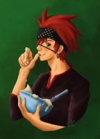 D.Gray-Man - Cooking Lavi by Evanyia
