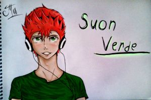 Diesis: Suon(Sion)  Verde by love354398