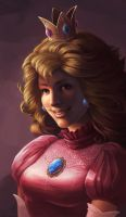 Princess Peach by SnakeToast