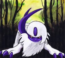Absol by LightningChaser