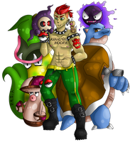 You Are Challenged By the King of Koopas Himself! by polyatomic-irony