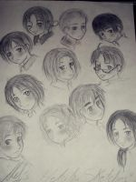 APH- My Style Sketches by Ale-L