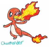 Charmander by FrozenFeather
