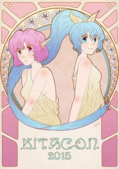Back to the Kitacon 2015- Con book submission by LittleGeeky