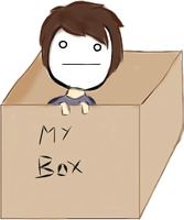 Cryaotic in a box by MsKappukeki